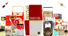 HOME - Focusing on the design of pocket transistor radios manufactured during the 1950's & 1960's!