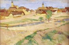 Fényes Adolf - Szentendre Painting, Art, Art Background, Painting Art, Kunst, Paintings, Performing Arts, Painted Canvas, Drawings