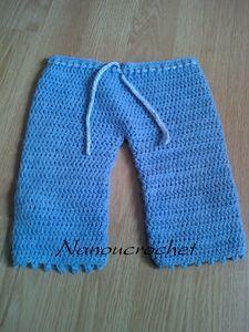 tuto pantalon crochet