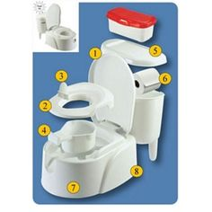 Potty Chairs for Toddlers   Totco Toilet Trainer - Potty Chair