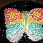 Butterfly cake photos 3 badly done but good idea