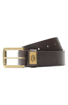 Men's Jack Mason Brand 'Georgia Bulldogs - Gridiron' Leather Belt