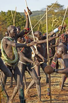 Image result for suri tribe stick fighting