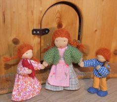 waldorf dollhouse dolls