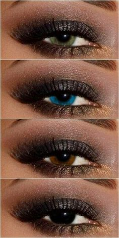 This look is perfect for every eye