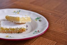 Big Sur Lemon Bars by eatliverun. Recipe from The Nepenthe CookbookI #Lemon_Bars #eatliverun #The_Nepenthe_Cookbook