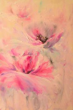 """Saatchi Art Artist Natalia Esanu; Painting, """"FANTASTIC POPPIES"""" #art"""