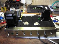 DIY - 5W guitar tube amp - YouTube