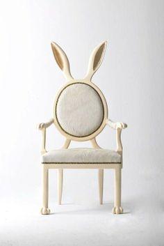 Rabbit Chair by Merve Kahraman.