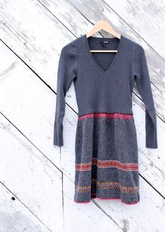 There is nothing like a nice, comfy, warm sweater dress for winter wear. You can easily make one from a couple of thrift store sweaters. First, choose a large pullover with a pattern you like to use for the bottom …
