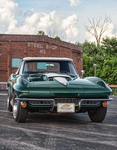 This 1967 Corvette is a dream investment that will definitely accelerate in value #ThrowbackThursday