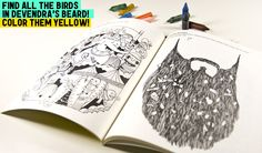 http://www.yellowbirdproject.com/products/indie-rock-coloring-book