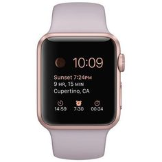 Smart Watch - Apple Watch Sport 38mm Rose Gold Aluminum Case With Sport Band