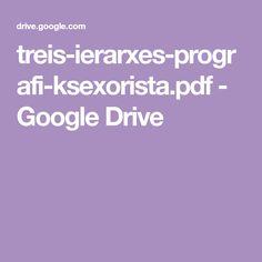 treis-ierarxes-prografi-ksexorista.pdf - Google Drive Educational Technology, Google Drive, Pdf, Instructional Technology