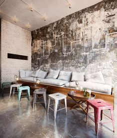 "Inspiration: ""Creative Coffee"" & Vintage Tolix Chairs"