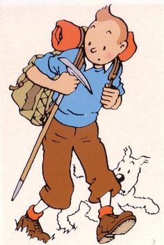 Tintin hiking