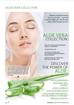 *BRAND NEW ALOE VERA COLLECTION*  Aloe Vera is the brand new line of cosmetics for care of your face and body, and it has already proved to be one of the best-selling collections! Products include; ✔Facial cleansing foam £8.99 ✔Peel off facial mask £8.69 ✔Facial toner £8.79 ✔Facial gel cream £8.89 ✔Intimate hygiene wash £8.49  Don't miss out on this amazing range! Inbox for a catalogue or to make your order.