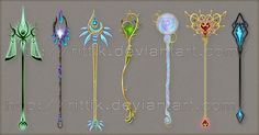 Staff designs 15 by Rittik-Designs on deviantART