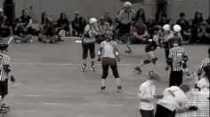 """You Should Be Watching More Roller Derby Footage — Cap cap cap cap cap. Sitting on a wall (sometimes known as """"capping"""") is very useful in disrupting it, especially if you're Wild Cherri and Smarty Pants won't leave your jammer alone."""