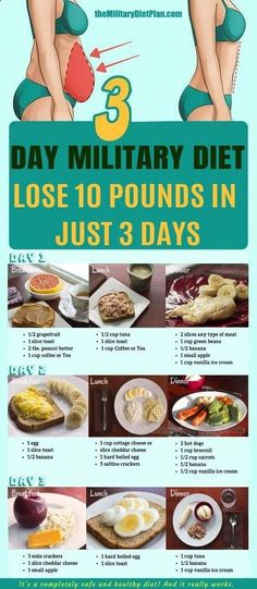 3 Day Military Diet To Lose 10 Pounds in 3 Day. Have you ever heard of 3 Day Military Diet? PRESS AND READ how to lose weight with 3 Day Military Diet and Lose 10 Pounds in 3 Day Fast Weight Loss Diet, Diet Plans To Lose Weight, How To Lose Weight Fast, Losing Weight, Weight Gain, Weight Control, Reduce Weight, Diet Tips, Diet Recipes