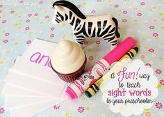 Teach your Kids to read Sight Words--The Fun Way!