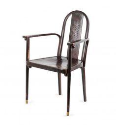 Josef Hoffmann (attributed) - '369/1F' armchair, c1905 - H. 95.5 cm, 61 x 58 cm. Made [...], Art Nouveau et Art Déco à Quittenbaum Kunstauktionen | Auction.fr
