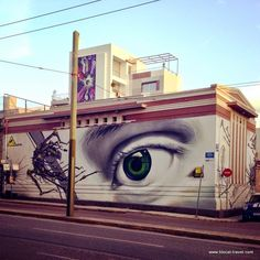 INO street art in Gazi Athens Athens City, Street Art Photography, Sidewalk Art, Walk Past, Mural Painting, Street Art Graffiti, Greece Travel, Urban Art, Amazing Art