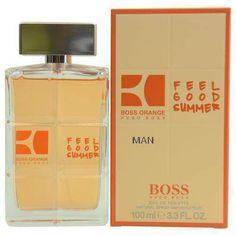 Boss Orange Man Feel Good Summer By Hugo Boss Edt Spray 3.3 Oz