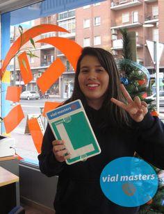 Daniela se sacó el carnet de conducir en Autoescuelas Vial Masters. ¡Enhorabuena y felices fiestas!