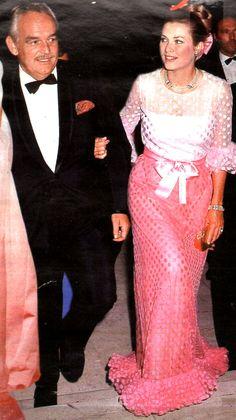 Princess Grace Kelly of Monaco and Prince Rainier. Charlotte Casiraghi, Andrea Casiraghi, Monaco As, Monaco Royal Family, Prince Rainier, Princess Caroline Of Monaco, Princess Stephanie, Monaco Princess, Queen Elizabeth