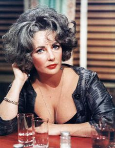 Elizabeth Taylor in a promotional shot for Who's Afraid of Virginia Woolf? (1966)