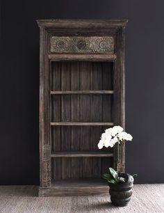 Ancient India Bookcase. #rustic #exquisite #Home #Styling  Browse more! http://originals.com.sg/collections/nomad-india-2016