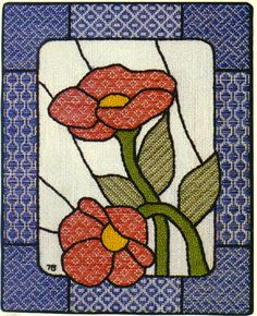 Pattern darning http://www.needlepoint.org/Archives/00-02/darning.php