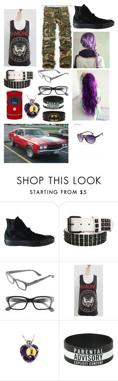 """""""OOTD-Cat"""" by luna-star11 ❤ liked on Polyvore featuring Converse, Corinne McCormack and The Bradford Exchange"""