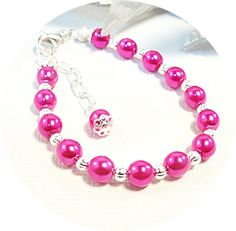 Hey, I found this really awesome Etsy listing at http://www.etsy.com/listing/165709749/bracelet-pink-pink-bracelet-kids