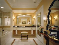 The venetian - suite bath - sfa design