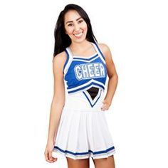 Adult Angelic Cheerleader Halloween Costume That is an Unique having a look cheerleader uniform made with top of the range polyester.  sc 1 st  Pinterest & Adult Grease Sandy Cheerleader Costume | Grease sandy Cheerleader ...