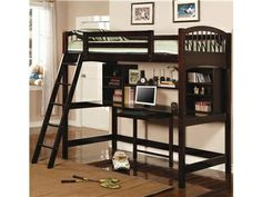 Shop For Coaster Loft Bed, 460063, And Other Youth Bedroom Beds At Colfax  Furniture