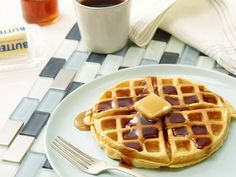 Alton's Oat Waffle Recipe Video : Food Network - FoodNetwork.com