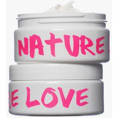 Nature Girl Nature Love Body Cream - Jasmine Lime (£24) ❤ liked on Polyvore featuring beauty products, bath & body products, body moisturizers, beauty, fillers, makeup, body moisturizer and nature girl
