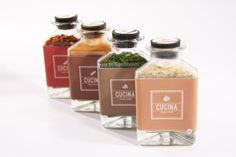 Cucina Food & Wine: Spice Kit by Eda Sy, via Behance