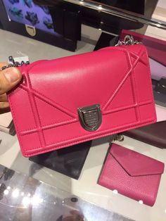 Diorama ,Christian Dior Diorama Shoulder Bag Pink