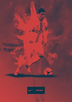 Football Posters by Taylor Margetts-Burt, via Behance
