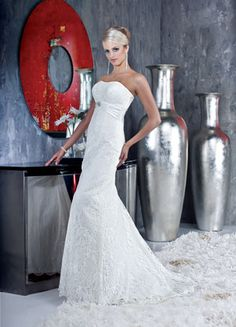 Da Vinci Wedding Gown ~ Elegntly Beautiful Lace Gown ~ Lasting Impressions Sioux Falls, SD
