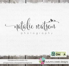 premade logos logo design logo photography logo by autumnscreek