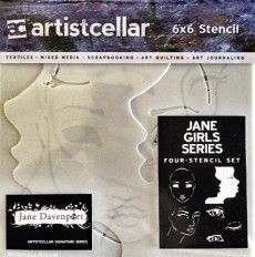 Excellent for a template on the go in my art journal!