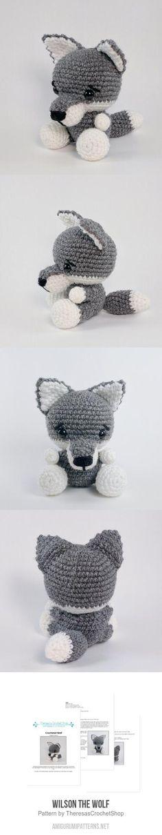 Wilson The Wolf Amigurumi Pattern