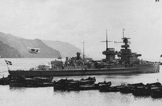 German 5.9 in light cruiser Nurnberg in the late 1930s pre WW2.  Captured intact by the British at Copenhagen in 1945, she was handed over to the USSR as war reparations.  She was scrapped in 1960.