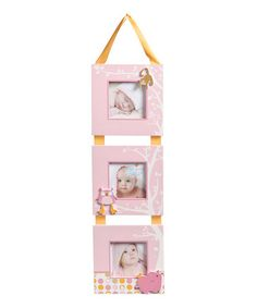 Take a look at this Pink Hanging Tier Frame by Nat & Jules on #zulily today!