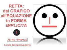 RETTA: dal GRAFICO all'EQUAZIONE in FORMA IMPLICITA - ESEMPIO 1 con C…